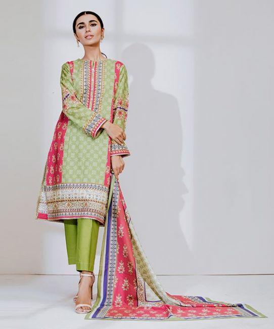 Zellbury Cambric 2pc Suit Alkarim Fabrics