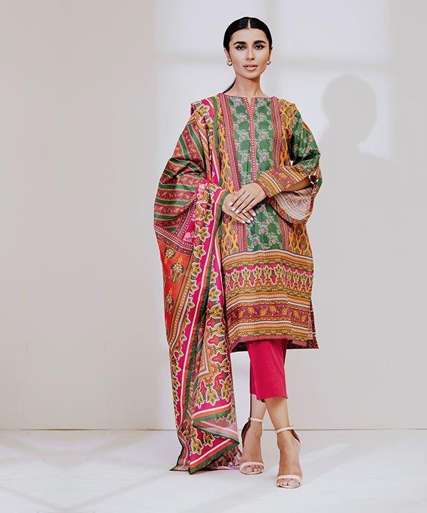 Zellbury Cambric 3pc Suit Alkarim Fabrics