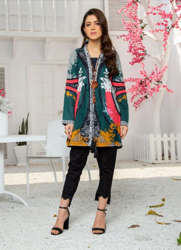 Latest printed kurti collection 2021 pakistan