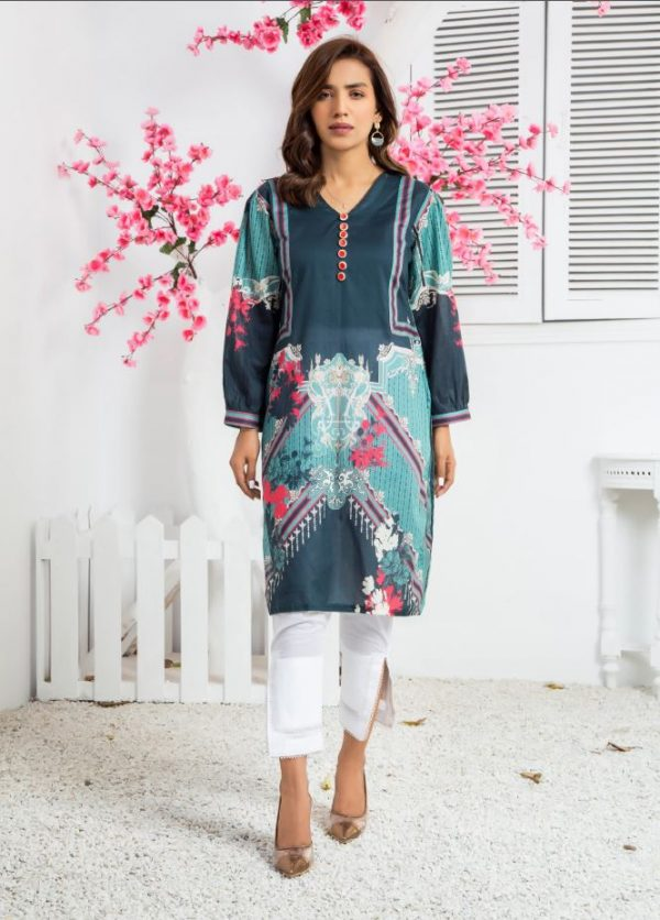 Latest printed kurti collection 2021 pakistan