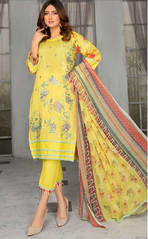RangRaiz Embroidered Lawn Suit